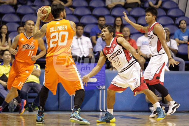 Meralco Bolts survive initial shock to knock Pacquiao, KIA out of playoff contention