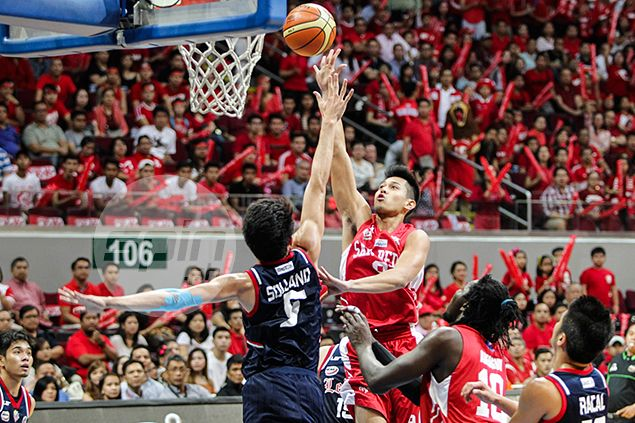 San Beda youngster Javee Mocon says Game 2 heroics a big boost to his confidence