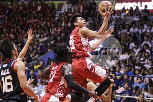 San Beda turns back Letran to secure twice-to-beat berth in NCAA Final Four
