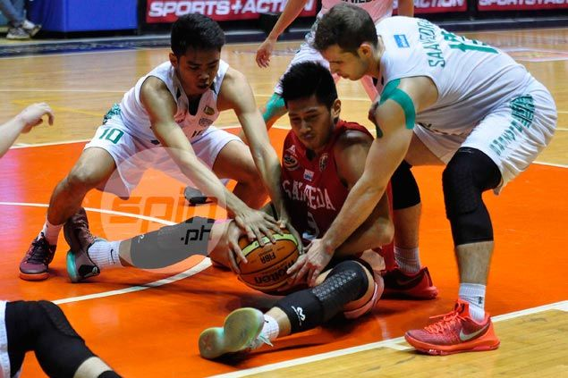San Beda Red Lions pounce on Grey absence to deal CSB Blazers lopsided loss