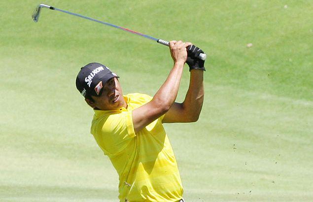 Jay Bayron bucks final-hole double bogey to seize 54-hole lead at Anvaya Cove