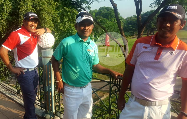 Before he became a golf champ, Jay Bayron was caddie for a Davao hacker named Digong