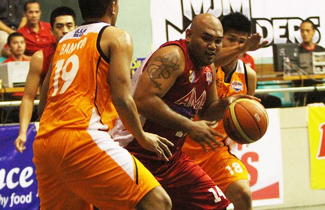 Jay R Taganas' all-around effort enough for AMA to slip past Bread Story