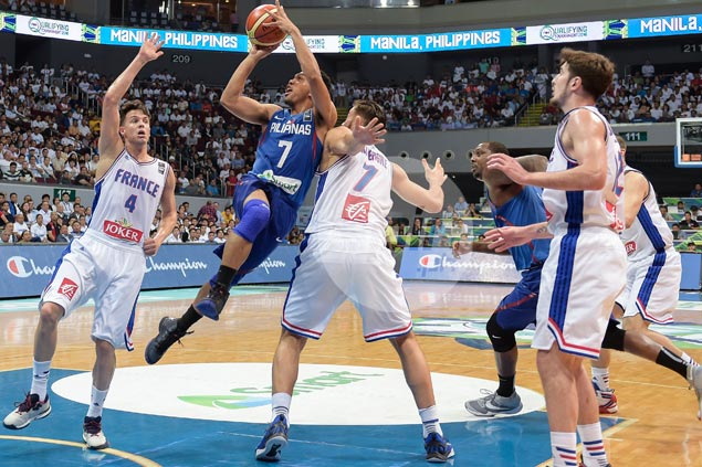 Top-ranked France given giant scare by fighting Gilas side in Manila OQT thriller