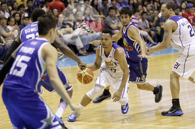 Talk 'N Text a win away from PBA Finals as 'The Blur' Castro leaves Purefoods befuddled