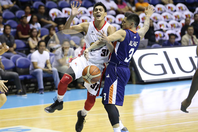 Alaska digs deep into playoff experience to hold off Meralco in Game One