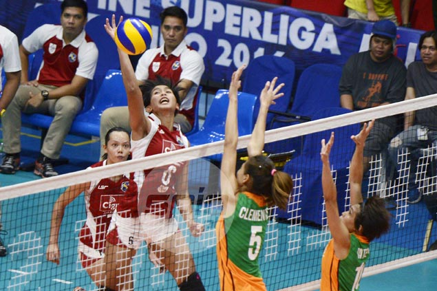 Jeanette Panaga stars as Cignal HD whips Amy's Kitchen in battle of Super Liga tail-enders