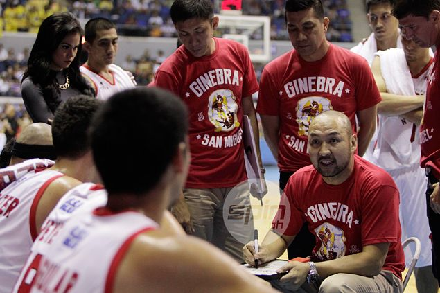 Time a factor as Jeff Cariaso admits Ginebra yet to fully grasp triangle offense