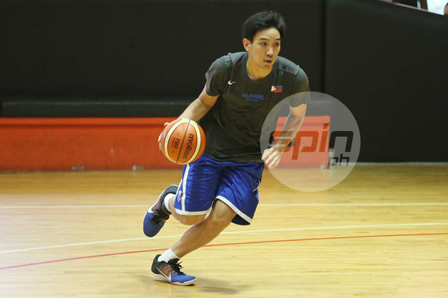 Jeff Chan finally joins first Gilas practice, but Marcio Lassiter still out with bronchitis