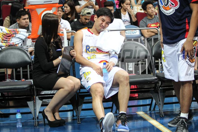 Jeff Chan ankle sprain 'not serious,' but Guiao fears top gun could miss at least a game