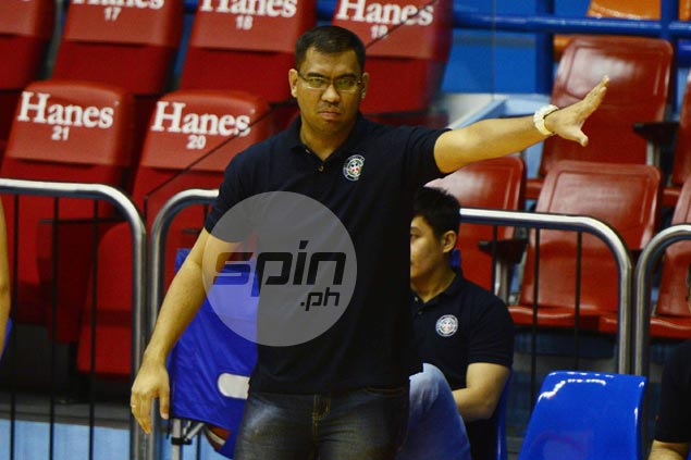 New coach Jeff Napa sets modest target for defending champs Letran Knights
