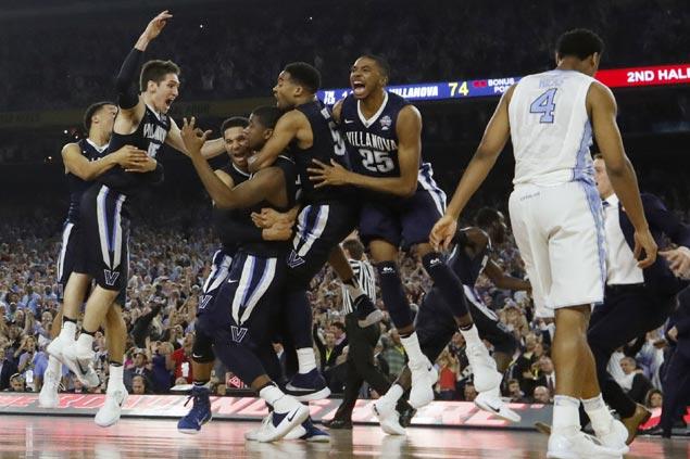 Kris Jenkins' buzzer-beating triple caps Villanova's magical run to NCAA title over North Carolina