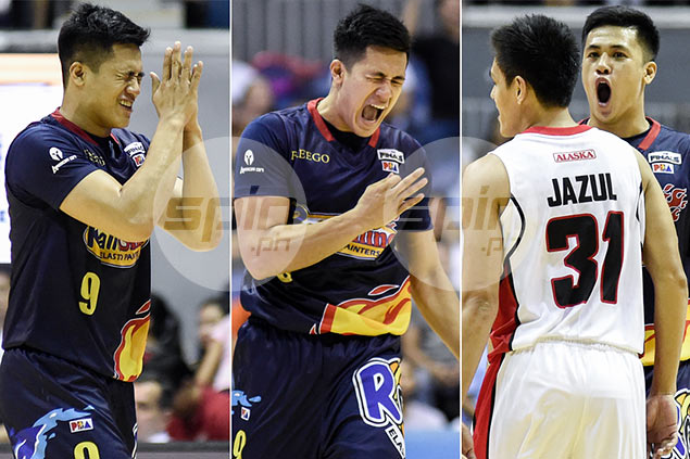 Jericho Cruz wears heart on his sleeve. See his many faces on the court