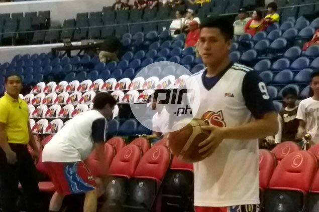 Glimmer of hope as RoS guard Jericho Cruz joins shootaround prior to Game Four