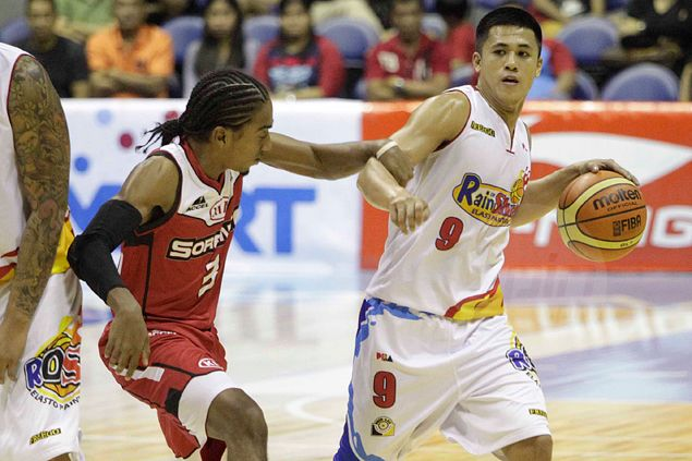 Rookie Jericho Cruz makes most of playing opportunities given him at Rain or Shine