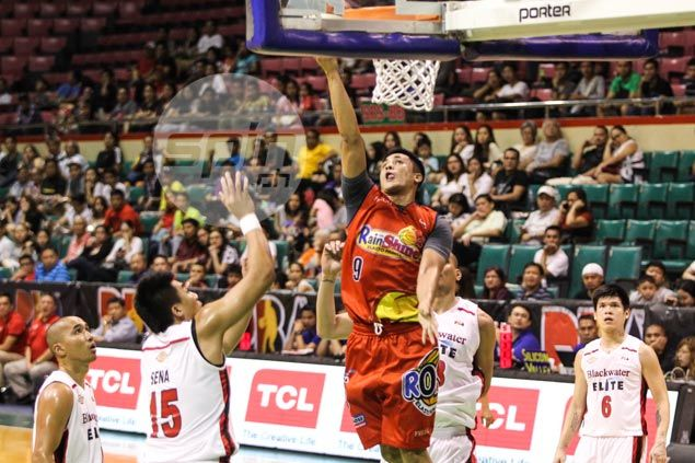Jericho Cruz continues sophomore surge, sparks Rain or Shine rout of Blackwater