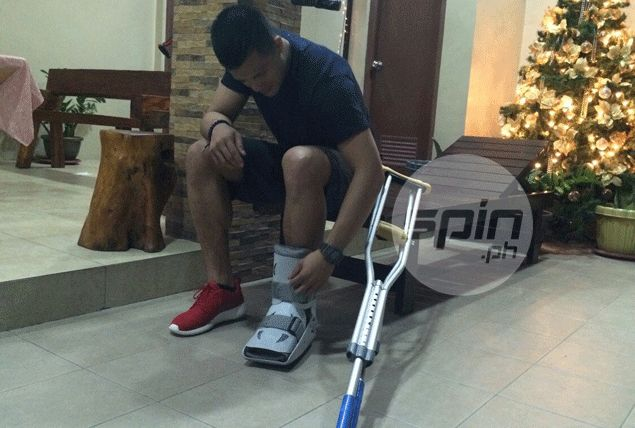Injured rookie Jericho Cruz filled with regret as Rain or Shine fights for dear life in PBA playoffs