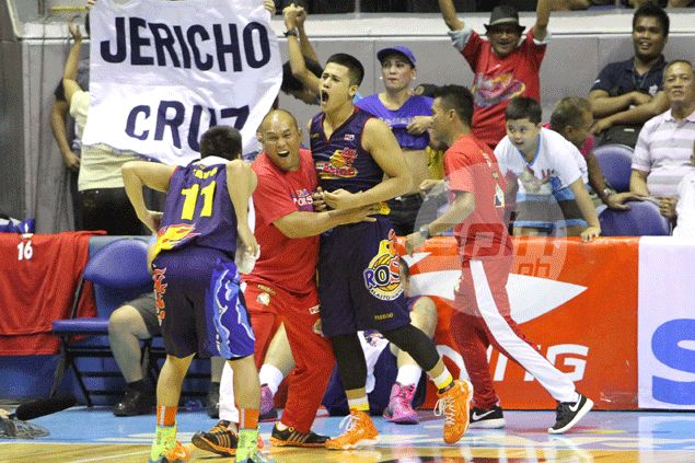 Rookie Jericho Cruz repays Guiao faith, leads Rain or Shine fightback against Alaska