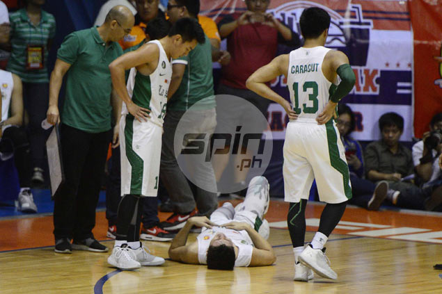 Ayo assures Jeron Teng will play in La Salle rematch vs Ateneo despite injury scare