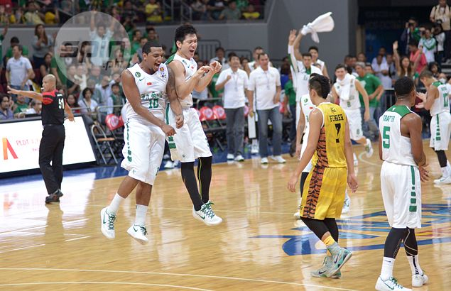 Jeron Teng gets a lot of help from super subs as La Salle tames UST Tigers for fifth win in row