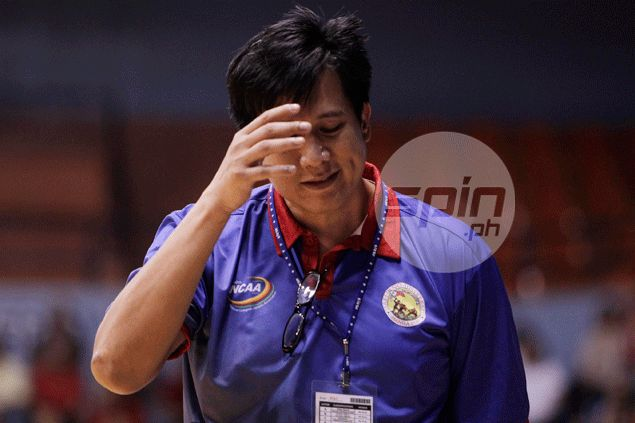 Arellano coach Jerry Codinera calls out Chiefs for lack of poise, says composure sets apart champion teams like San Beda