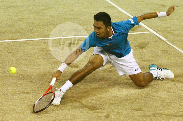 Jeson Patrombon scores straight-sets win as Philippines and Thailand split opening singles