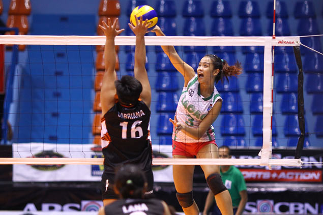 Shorthanded Laoag proves strong enough to beat Iriga in Shakey's V-League