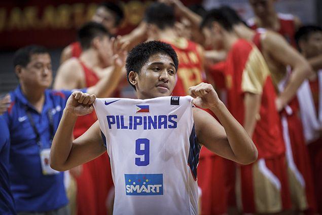 Batang Gilas outsteadies erstwhile unbeaten China in Fiba Asia Under-16 Championship