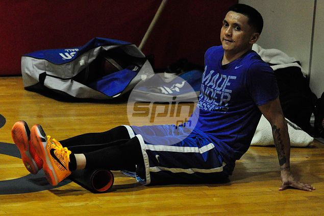Injured Jimmy Alapag says there simply wasn't enough time to recover for Fiba Asia