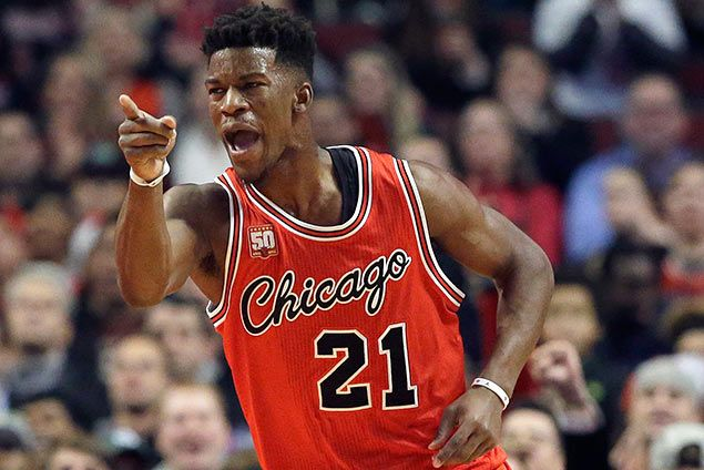 Jimmy Butler shuns comparison with Jordan: 'We're nowhere near the same player'