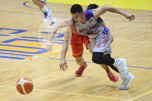 Jio Jalalon takes charge as Arellano Chiefs rout San Sebastian Stags