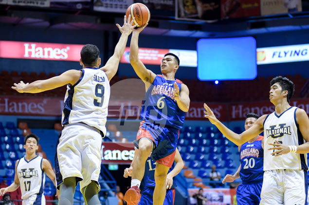 Jio Jalalon drops 34 on NU as Arellano Chiefs book maiden appearance in Filoil Cup finals