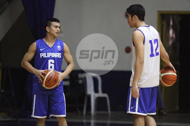 Jiovani Jalalon left star-struck after joining idols LA Tenorio, Jayson Castro in Gilas training