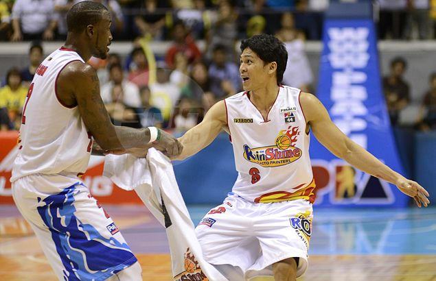 Ibanes says Quinahan action all about 'protecting family' at tight-knit Rain or Shine. 'Thanks for having my back'
