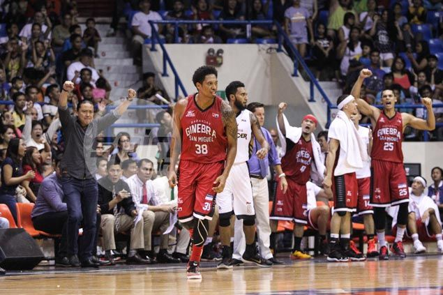 Joe Devance yet to settle down but says he's getting better and better with Ginebra