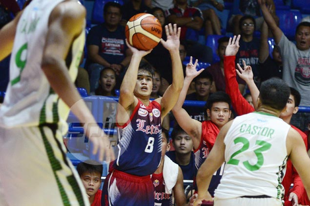Sollano, Calvo help Letran fend off late Benilde rally for second straight win