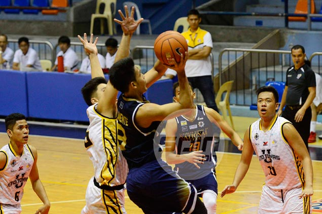 NU Bullpups three wins away from sweep of UAAP juniors elims after rout of UST