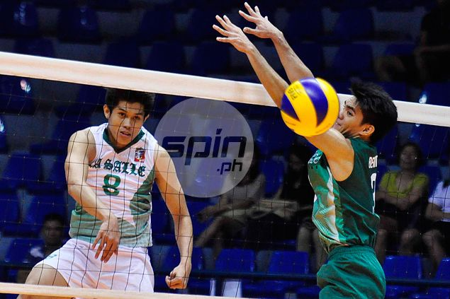 John Onia shows way as La Salle edges University of the Philippines in five