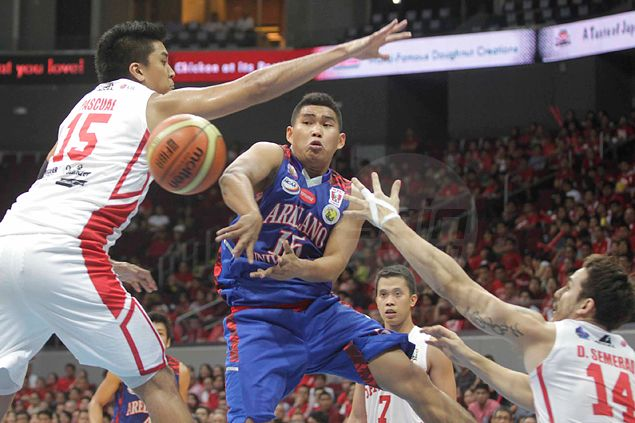 Arellano's John Pinto vows to bounce back in Game Two after San Beda slams door on him in series opener