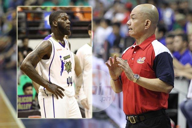 Rain or Shine coach Yeng Guiao says 'good riddance' after PBA life ban on Ivan Johnson