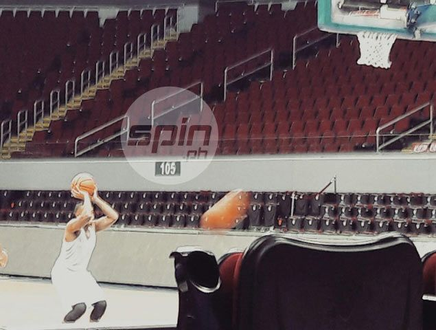 Sheriff means business: UST guard polishes shooting stroke ahead of Game One. VIDEO