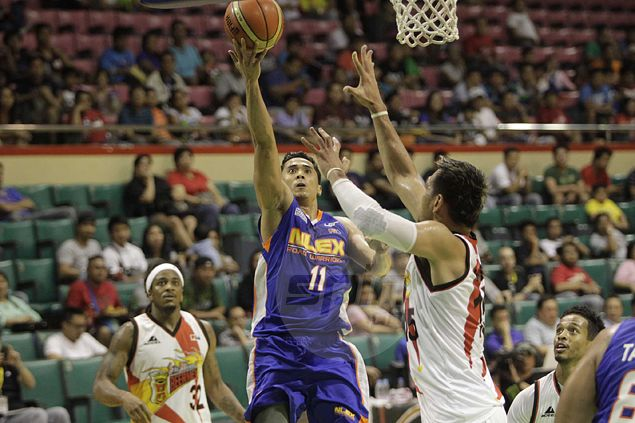 Jonas Villanueva takes up the cudgels for undermanned NLEX in tune-up win over Mahindra