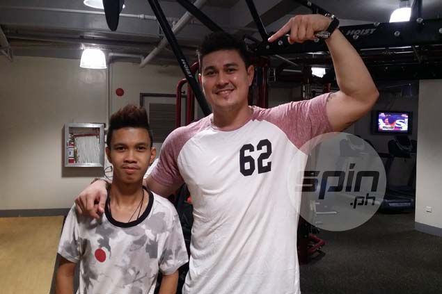 Jondan Salvador considers self lucky to find a fan who sticks with him through thick and thin