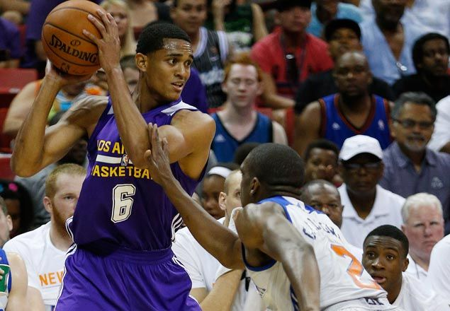 Lakers GM banking on a Jordan Clarkson-D'Angelo Russell backcourt in post-Kobe era