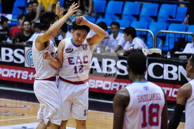 Remy Morada heroics in EAC upset win over Letran earn him NCAA Player of the Week honors