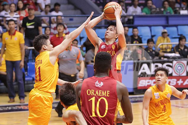 Returning Josan Nimes quick to make presence felt as PBA-bound guard steers Cards past Stags