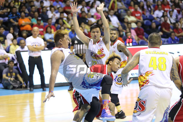 Finding Nimes: Rare appearance in PBA Finals icing on cake for Rain or Shine birthday boy
