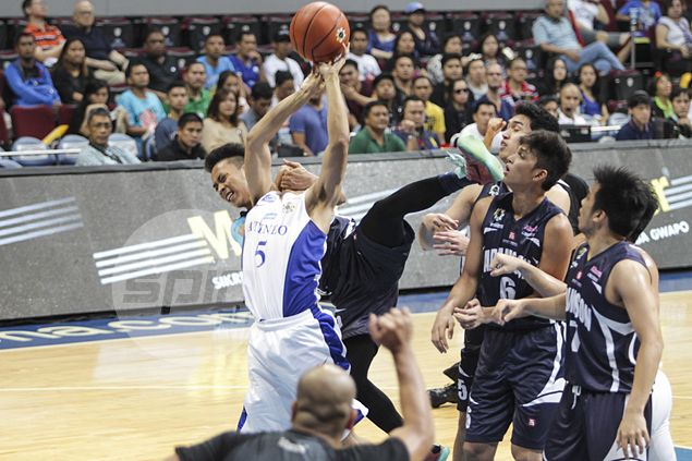 Adamson ace Joseph Nalos says there was no intention to hurt Ateneo's Vince Tolentino