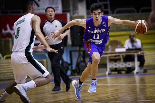 Batang Gilas regroups for China game by ripping Iraq in Fiba Asia Under-18 war