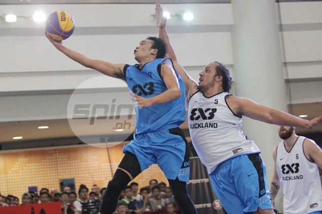 Auckland bounces back to beat Manila South in Fiba 3x3 World Tour basketball